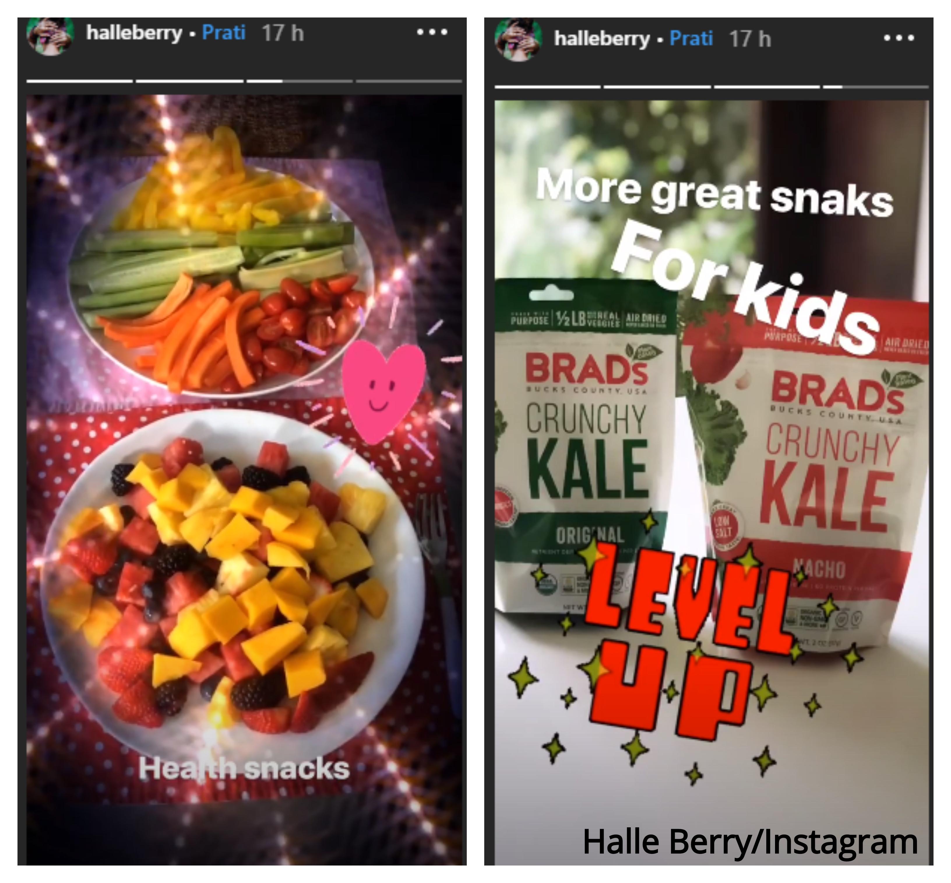 Halle Berry, Instagram