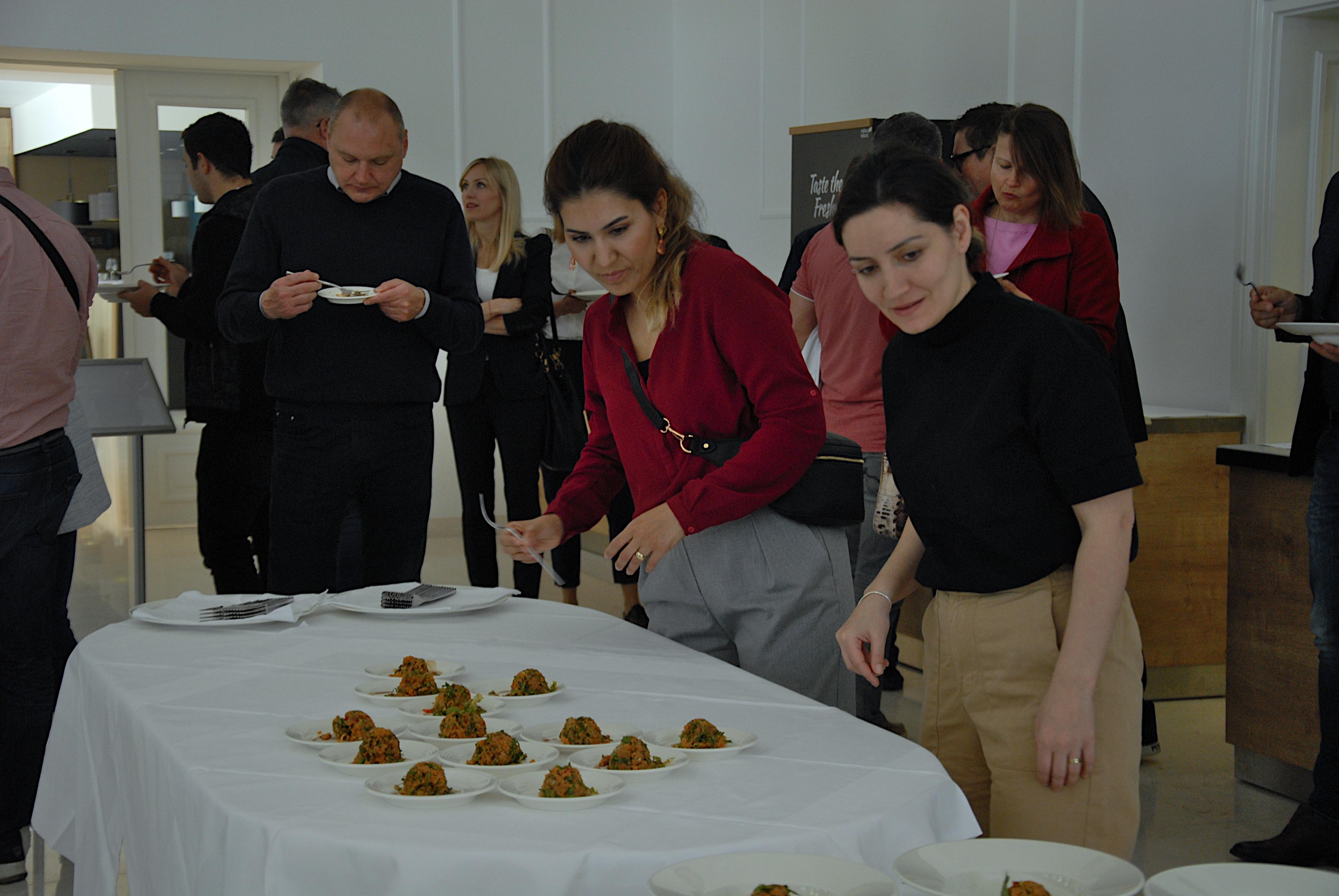 Radionica turske kuhinje u hotelu Esplanade u Crikvenici, snimila Nataša CAR