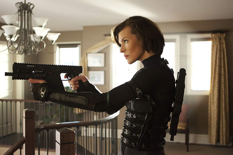 Mila Jovovich kao Alice 2012. u »Resident Evil: Osveta«