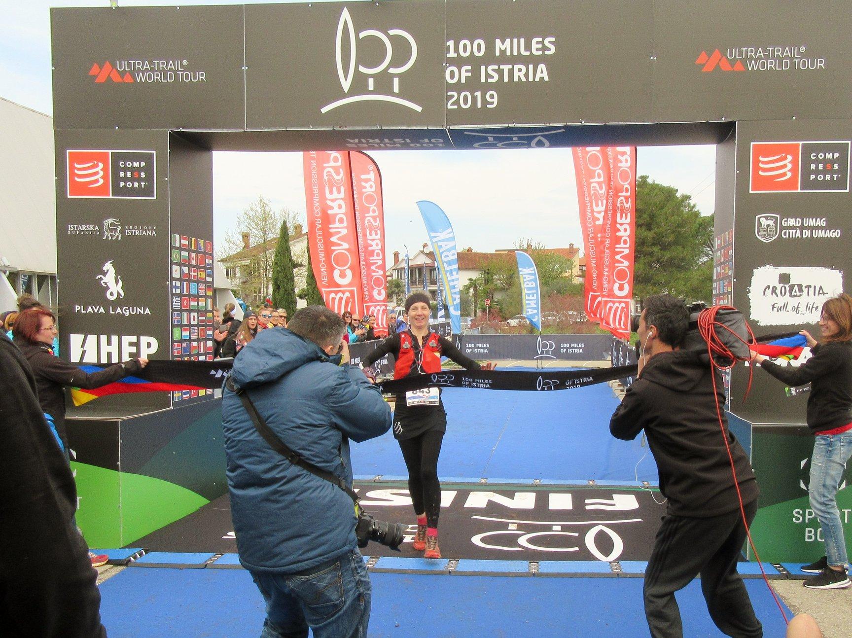 100 milja Istre, Ingrid u cilju, Foto Torpedo Runners