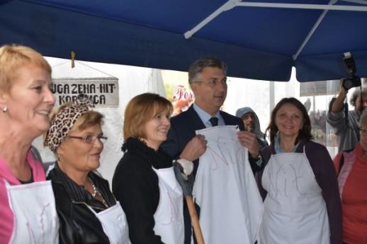 Jesen u Lici, Andrej Plenković
