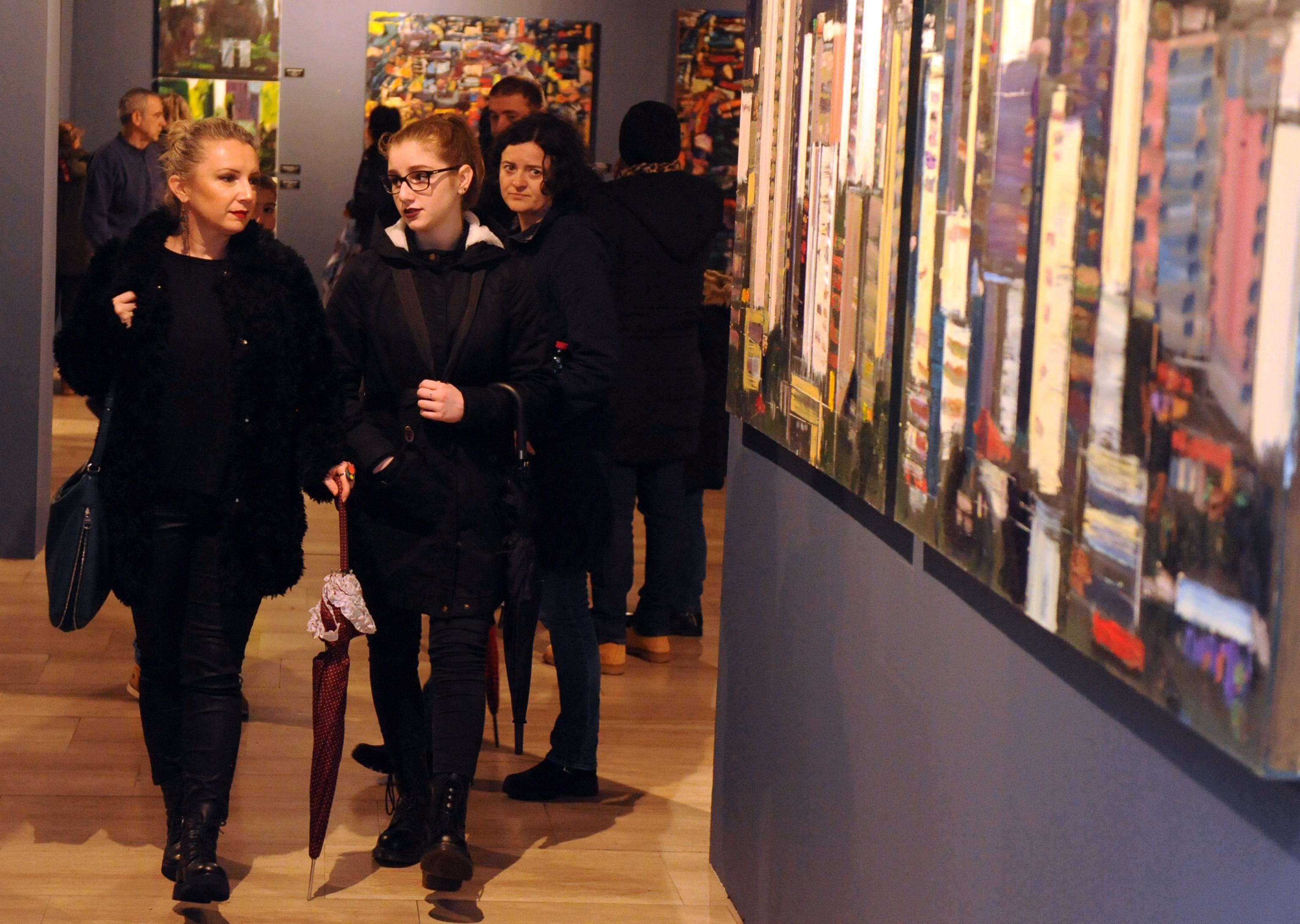 Noć muzeja, Muzej grada Rijeke - izložba Maura Stipanova  / Snimio Marko GRACIN
