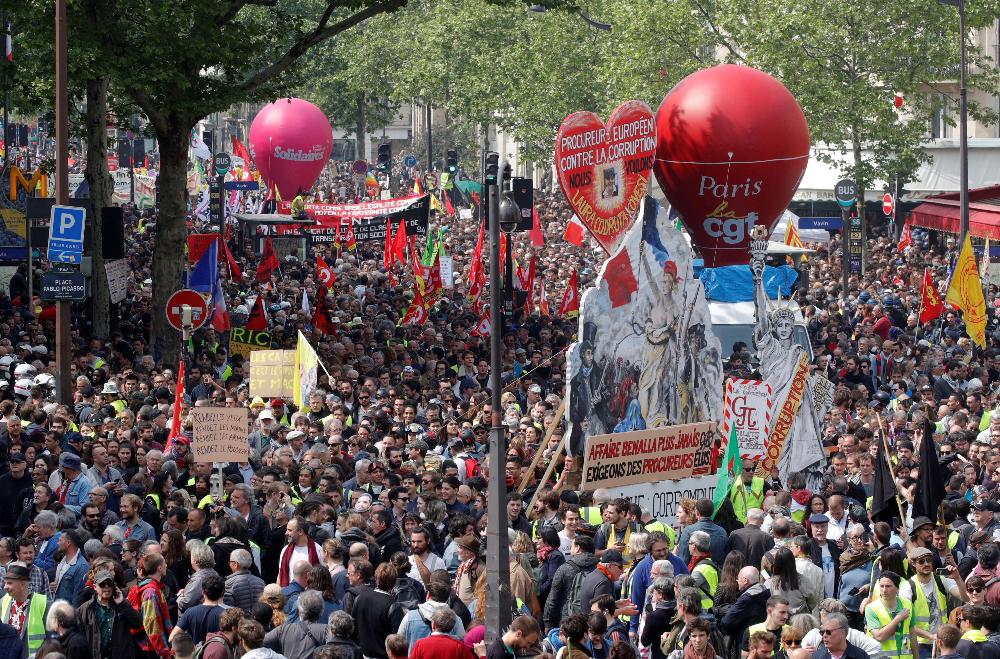 Prosvjed u Parizu, Foto Reuters