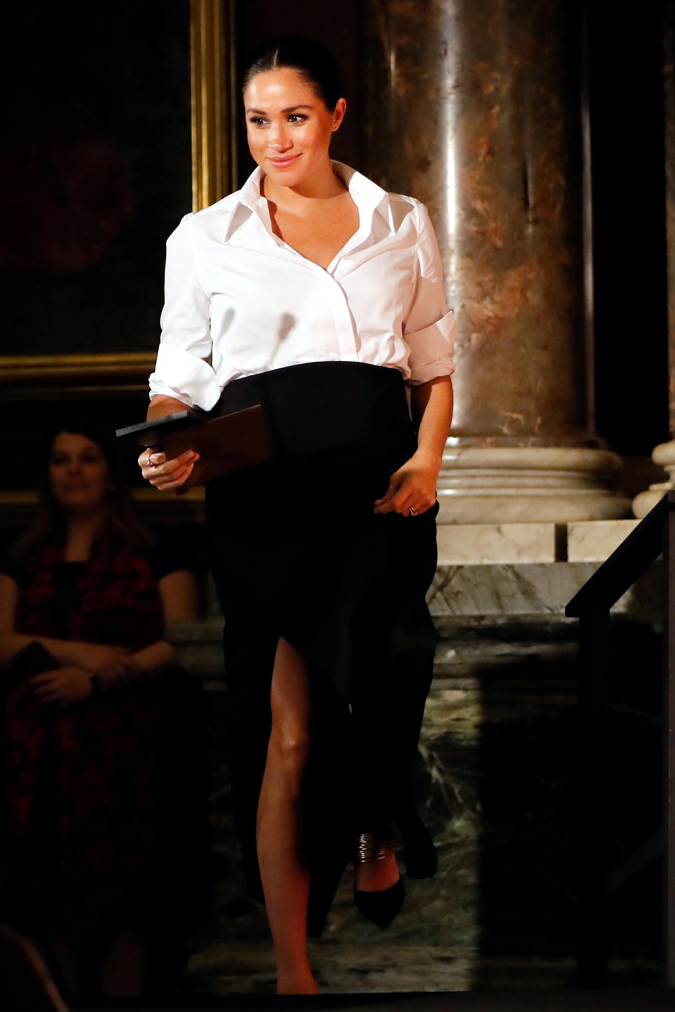 Meghan Markle u odjeći Givenchy / Foto Reuters