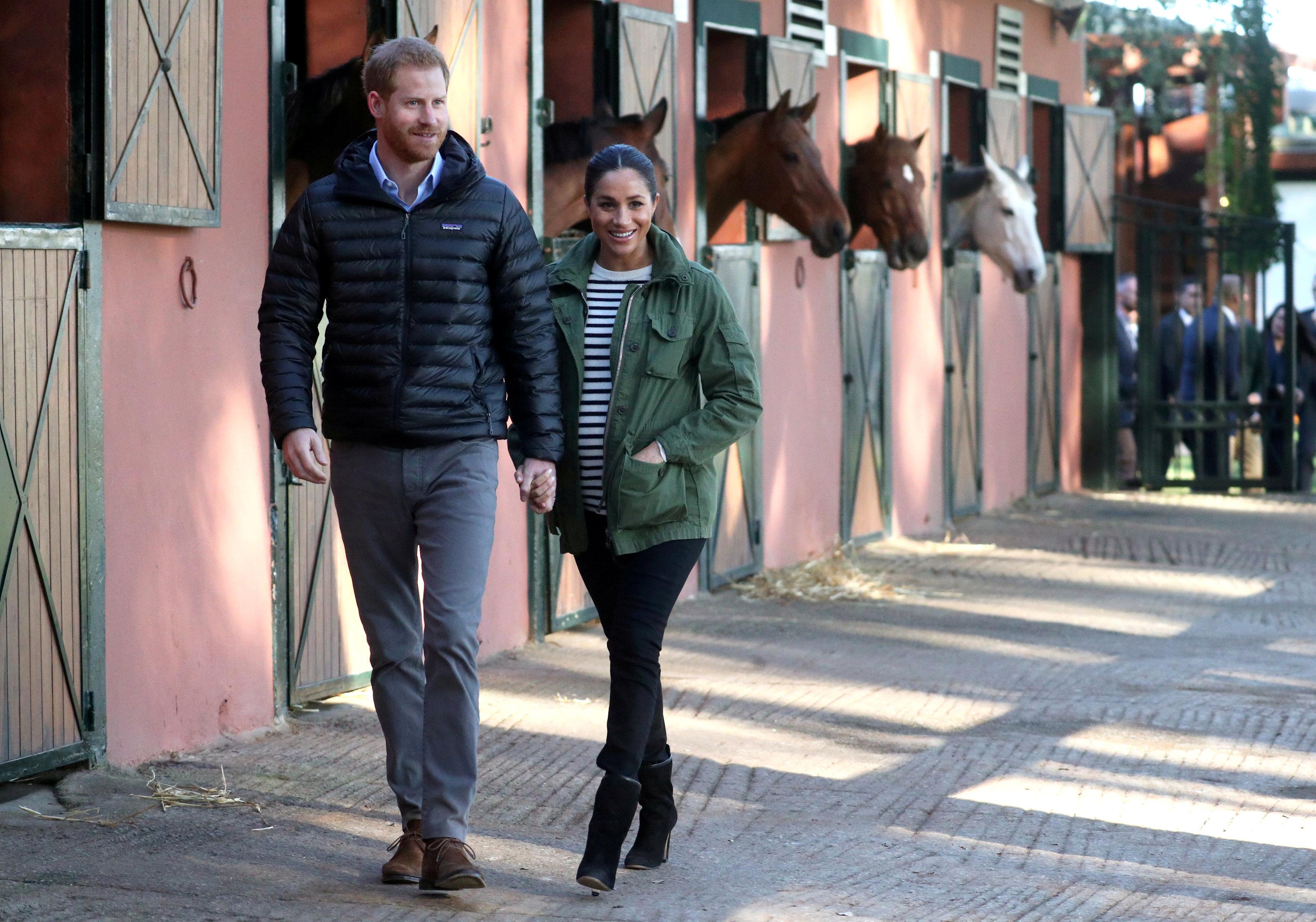 Meghan i Harry u neformalnom izdanju / Foto Reuters