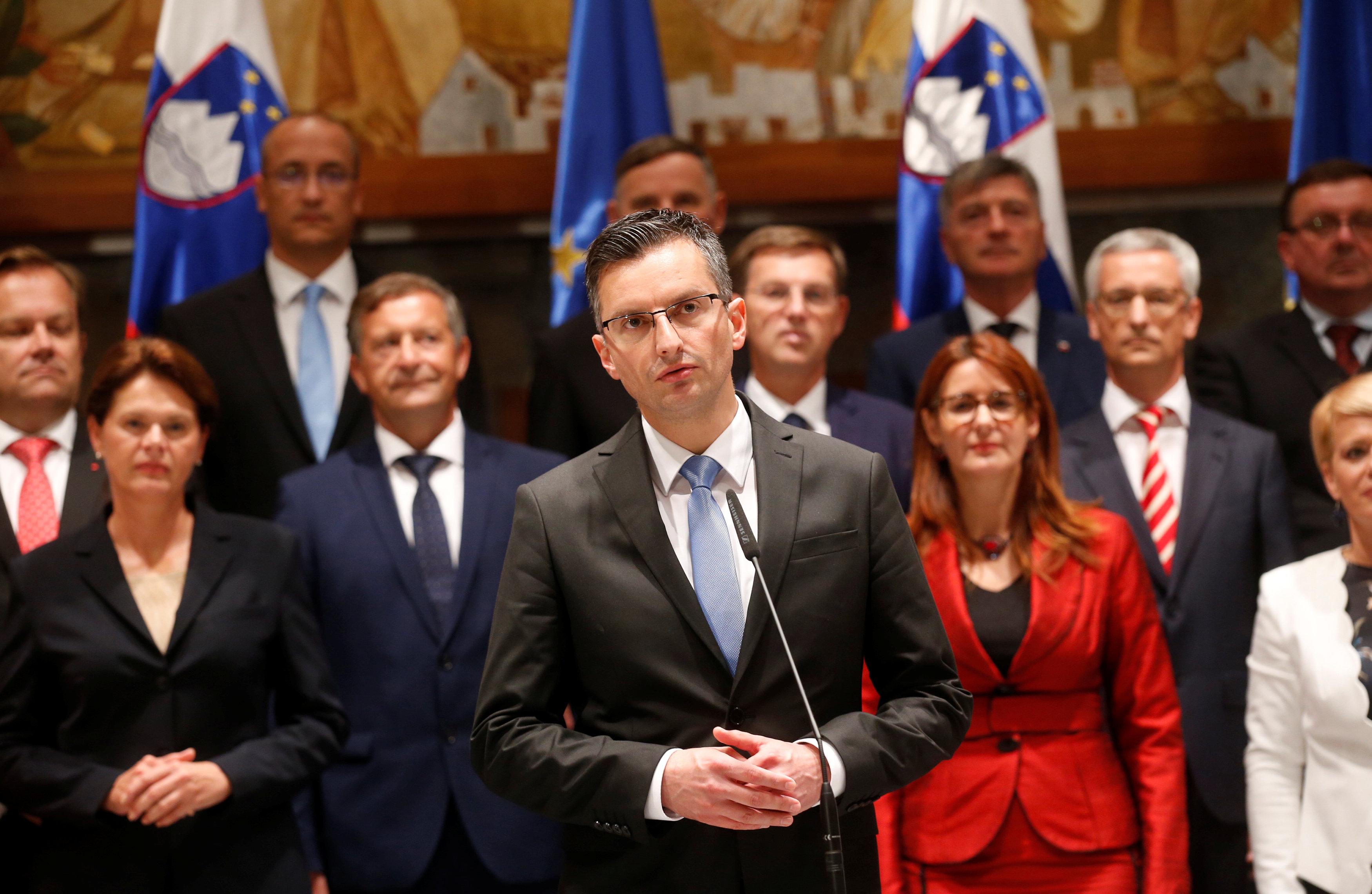 Na zapadu zasad ništa novo – nova slovenska vlada na čelu s Marjanom Šarcem /  REUTERS
