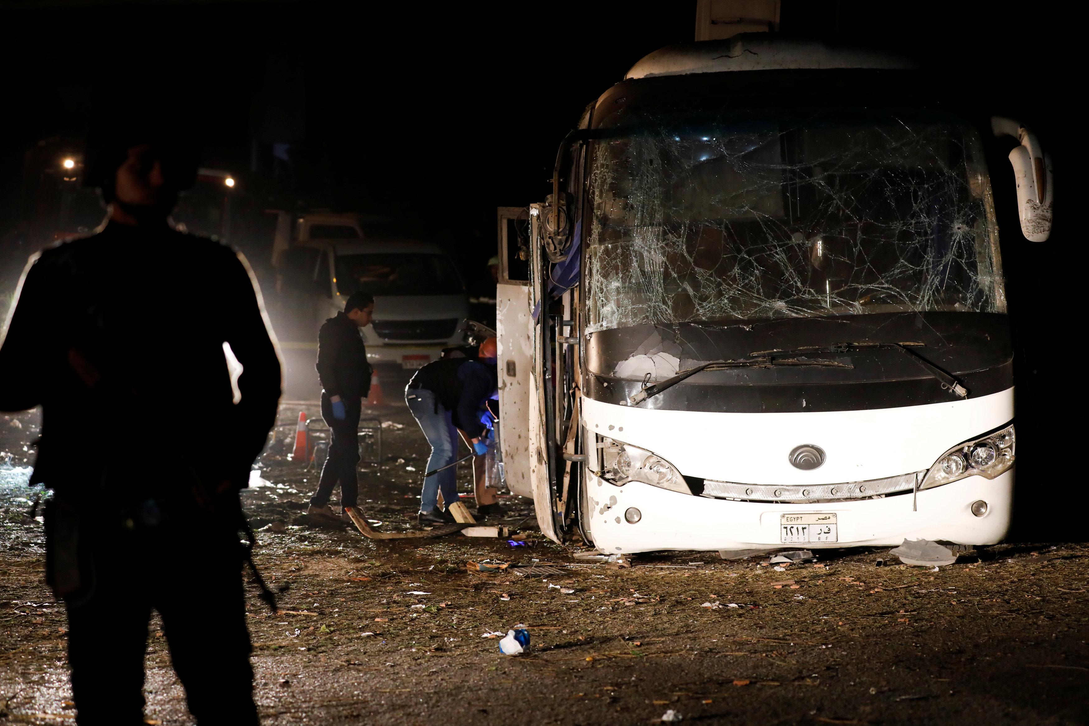 Giza, eksplozija, turistički autobus, Foto Reuters