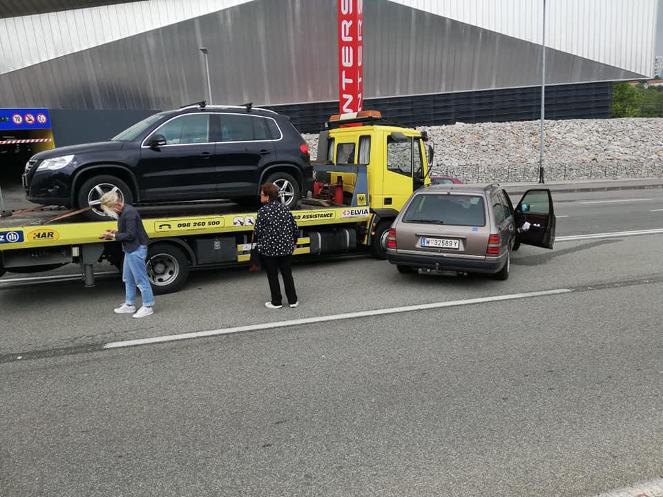 prometna nesreća, mercedes i kamion, Rujevica, Foto Maks KOSJEK