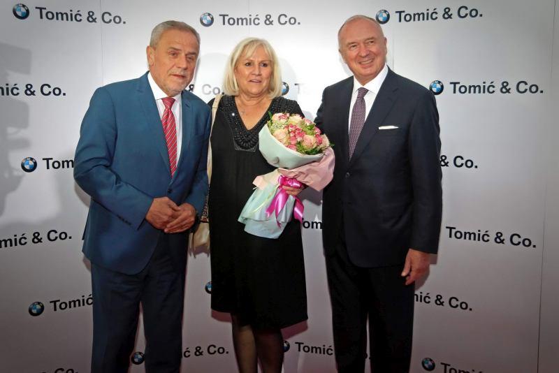 Milan Bandić, Božica Tomić i Franjo Tomić
