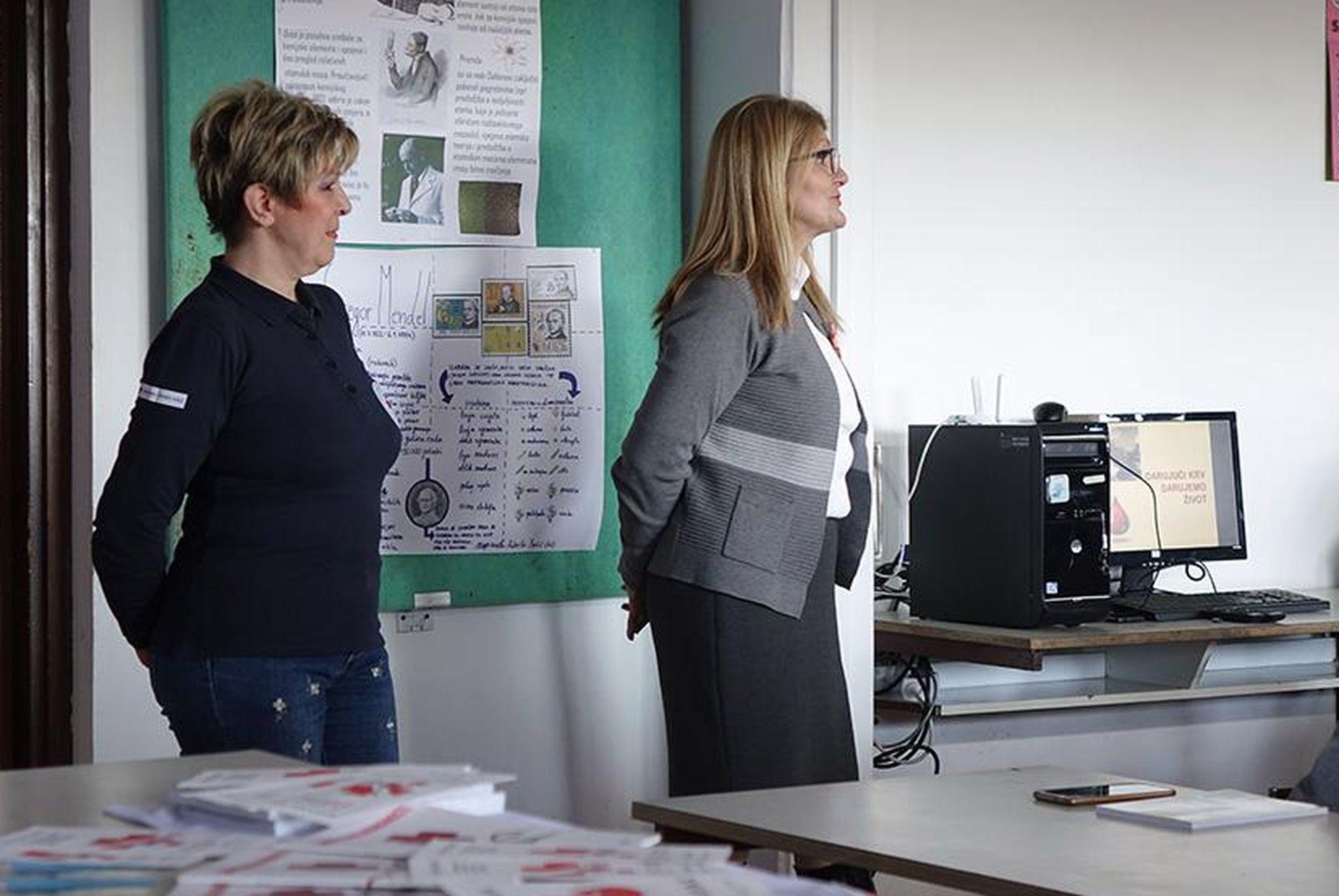Marija Jakominić i dr. Vesna Čavar / Foto I. GRŽETIĆ