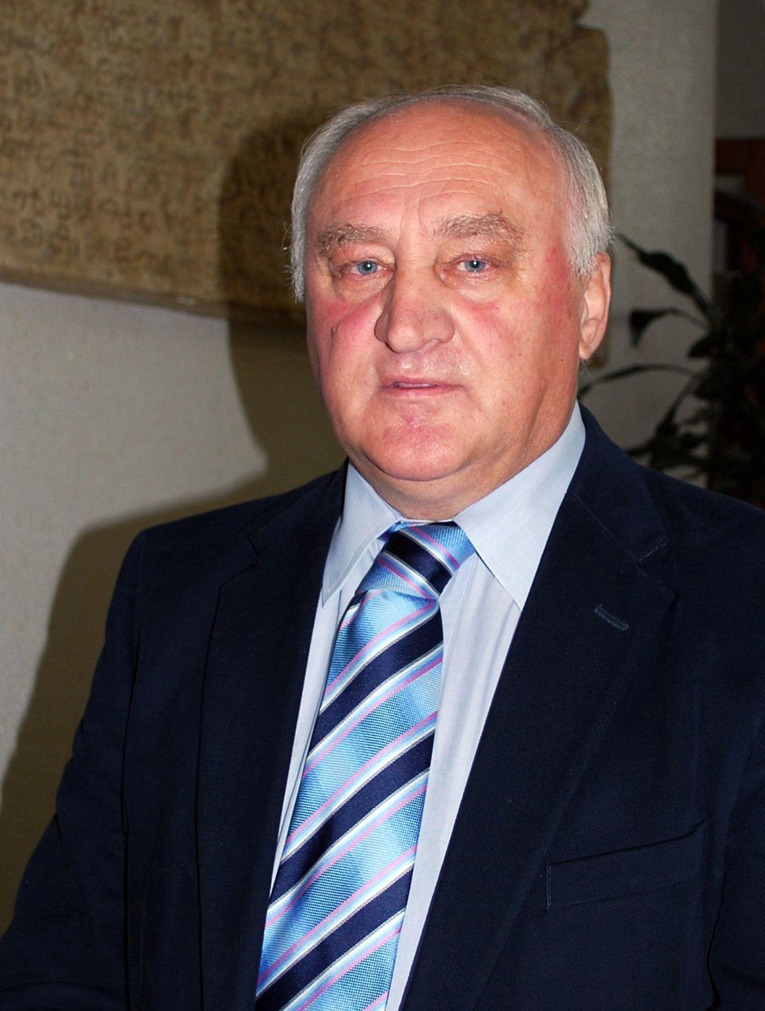 Anton Bolonić, predsjednik LD-a Orebica / Foto Mladen TRINAJSTIĆ