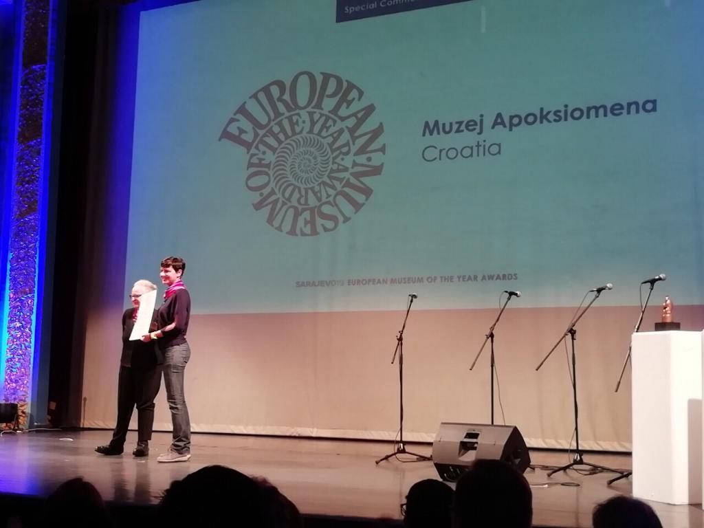 Muzej Apoksiomena dobio priznanje