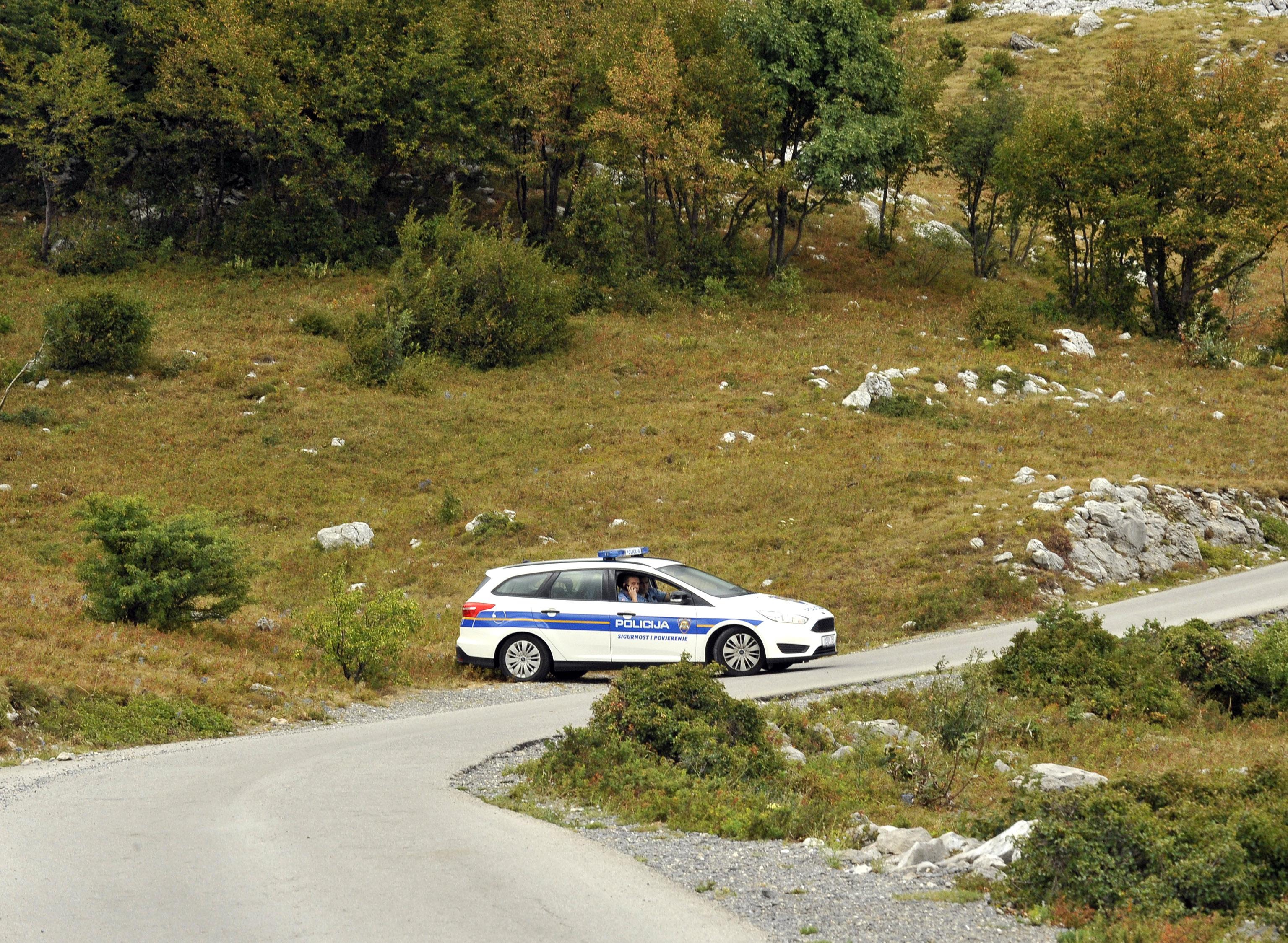 Policijske ophodnje / Foto S. Ježina