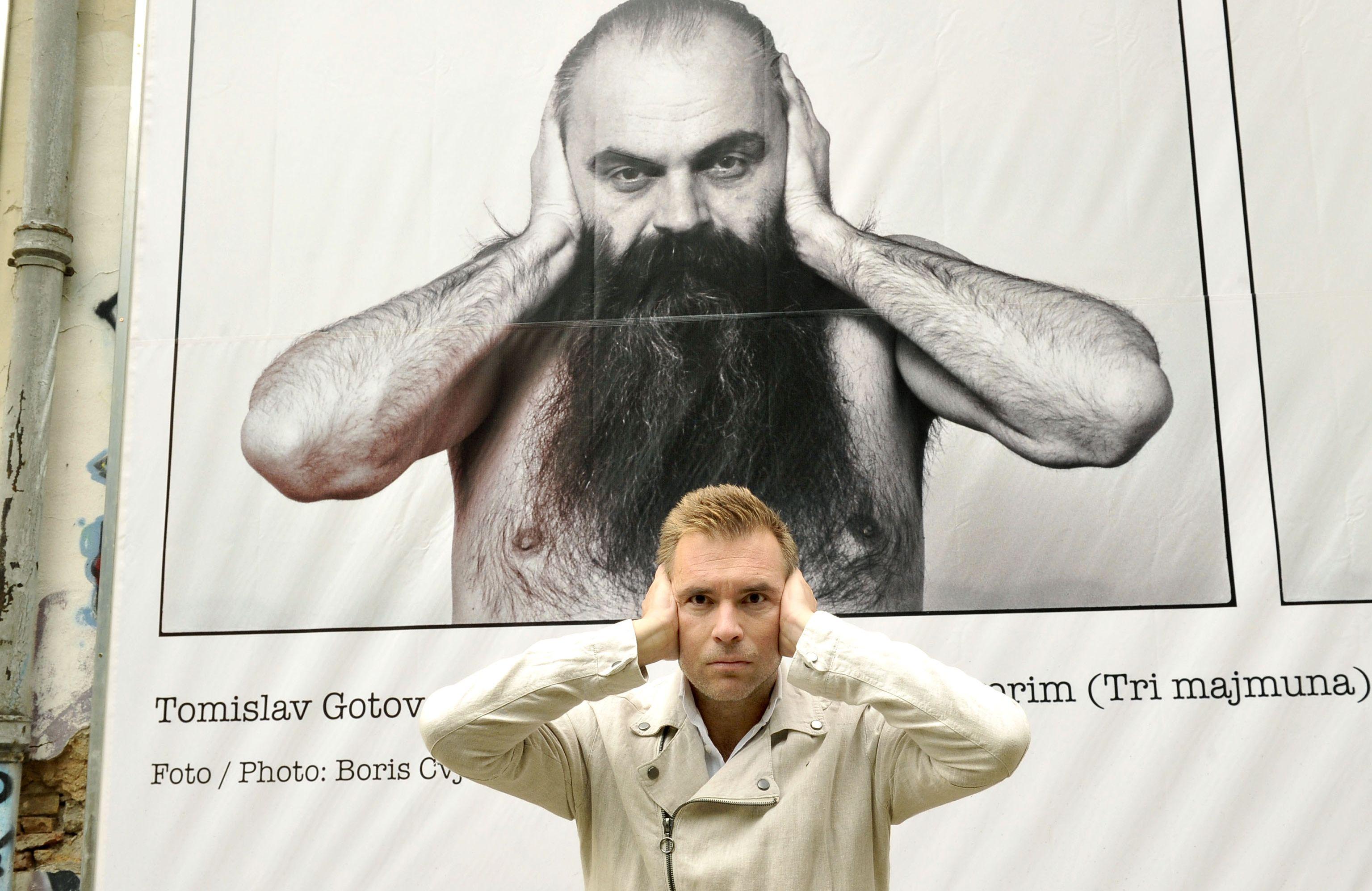 Iskreno, iznenadio me i broj ljudi na samom otvorenju izložbe Toma Gotovca - Ivan Šarar / Foto Silvano JEŽINA i emocionalni naboj