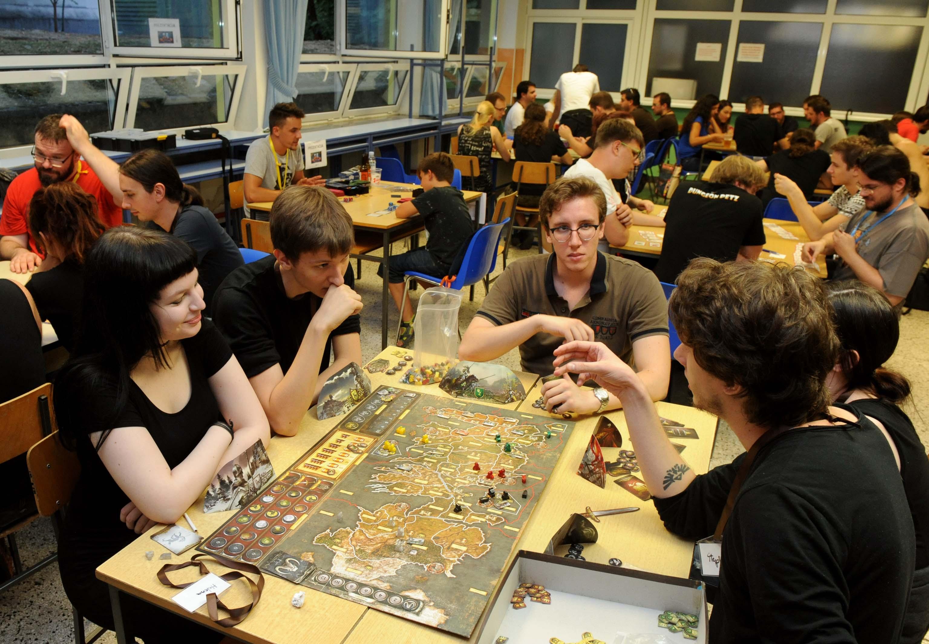 Društvene igre pobudile su veliku pažnju posjetitelja / Foto Marko GRACIN