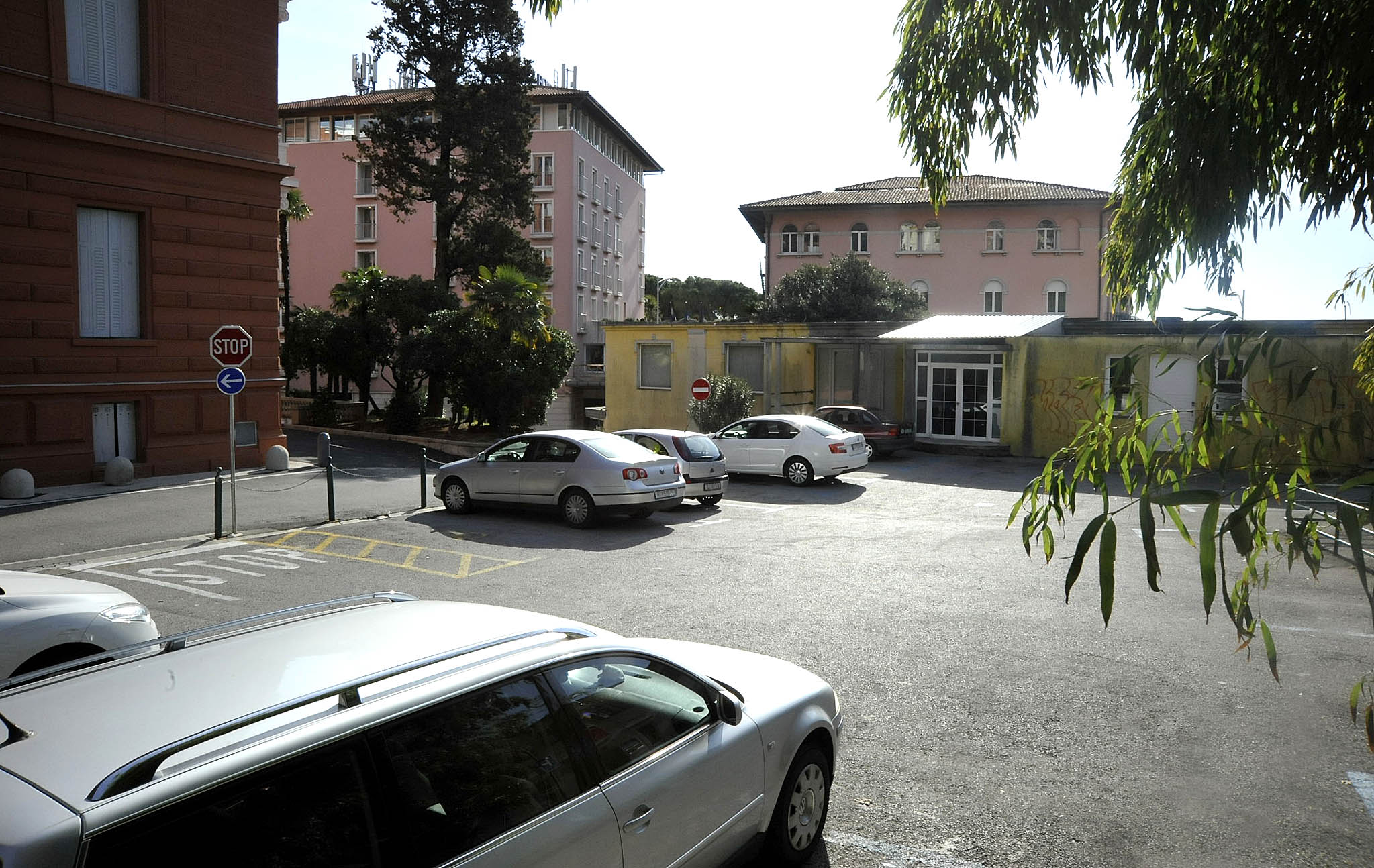 Parking, parkiranje, Opatija, Opatija 21, snimio Sergej DRECHSLER