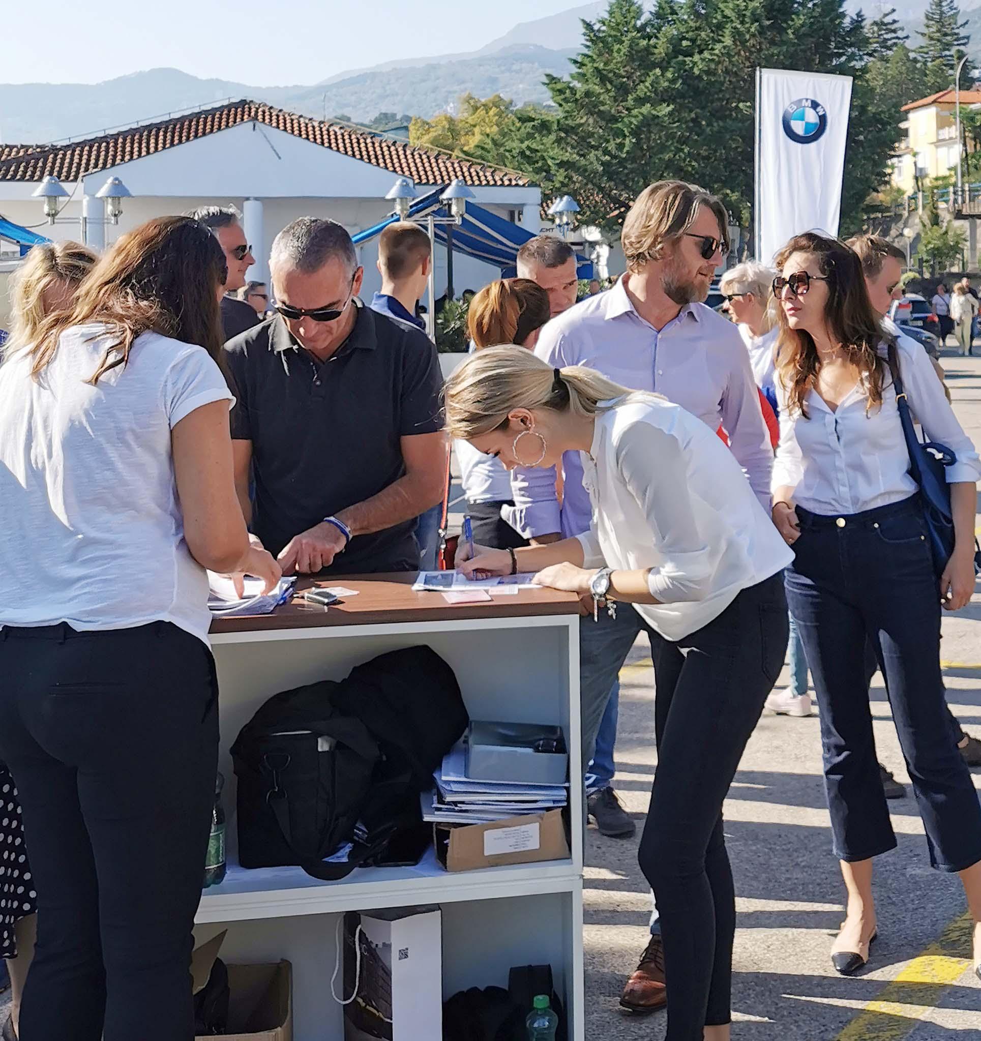BMW Roadshow u ACI marini Opatija / Snimi Ivica TOMIĆ