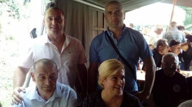 Prpić i Brnas u društvu ministra Medveda i predsjednice