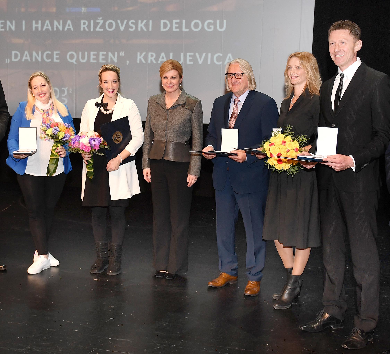 Godišnje nagrade dodijeljene su Dini Škamu, Nikici Sečenu, Hani Rižovski Delogu i Plesnom klubu »Dance Queen« iz Kraljevice, snimio Ivica TOMIĆ