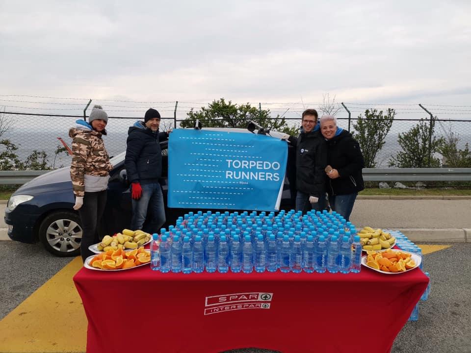 Homo si teć, Rijeka run, volonteri, Foto Torpedo runners