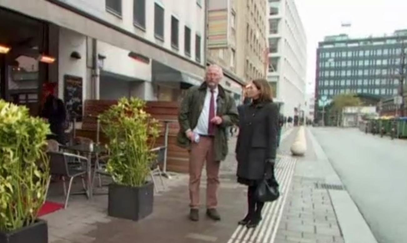 Grof Georg Eltz i novinarka RTL-a / Screenshot RTL Potraga
