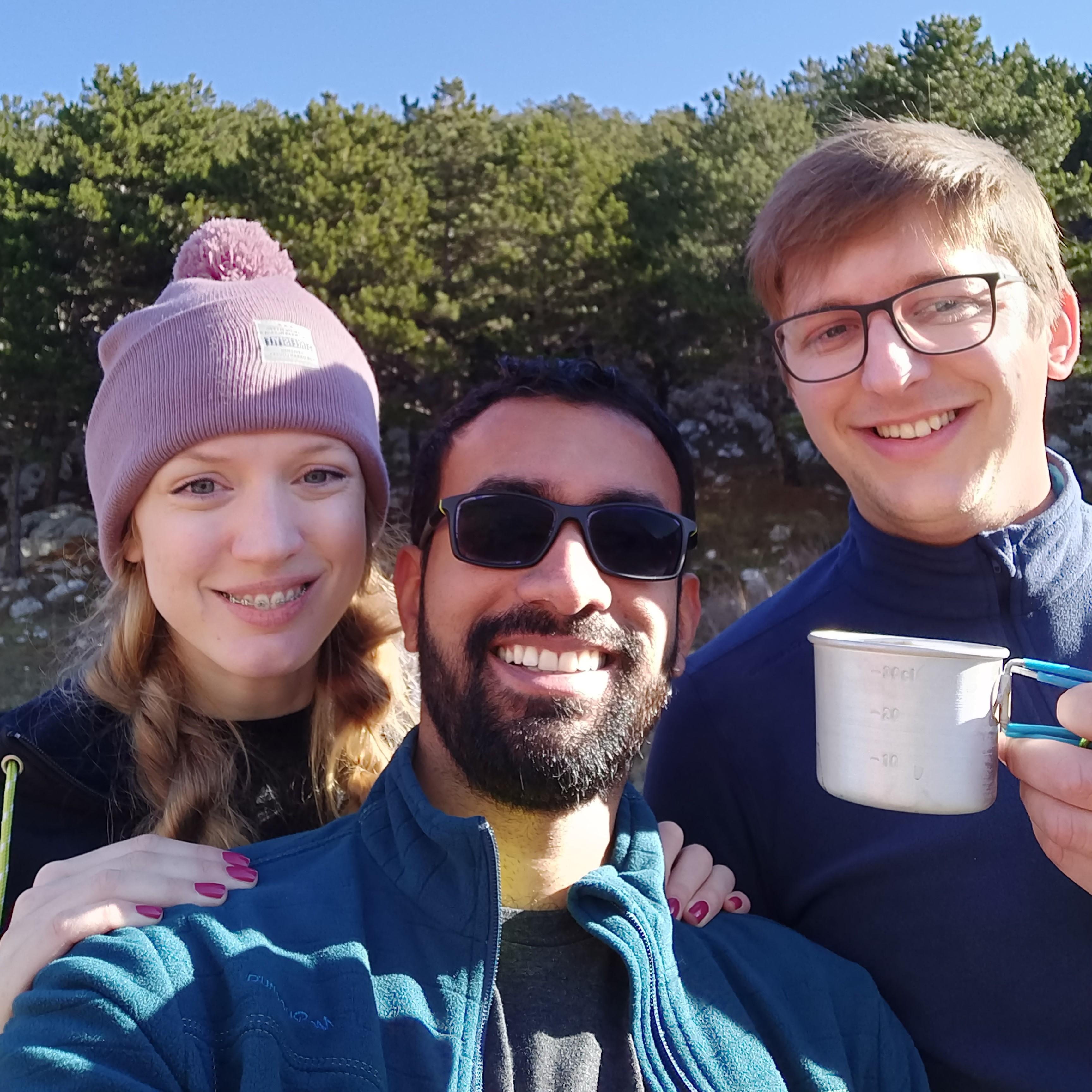 Balki s prijateljima iz Splita na planinarenju