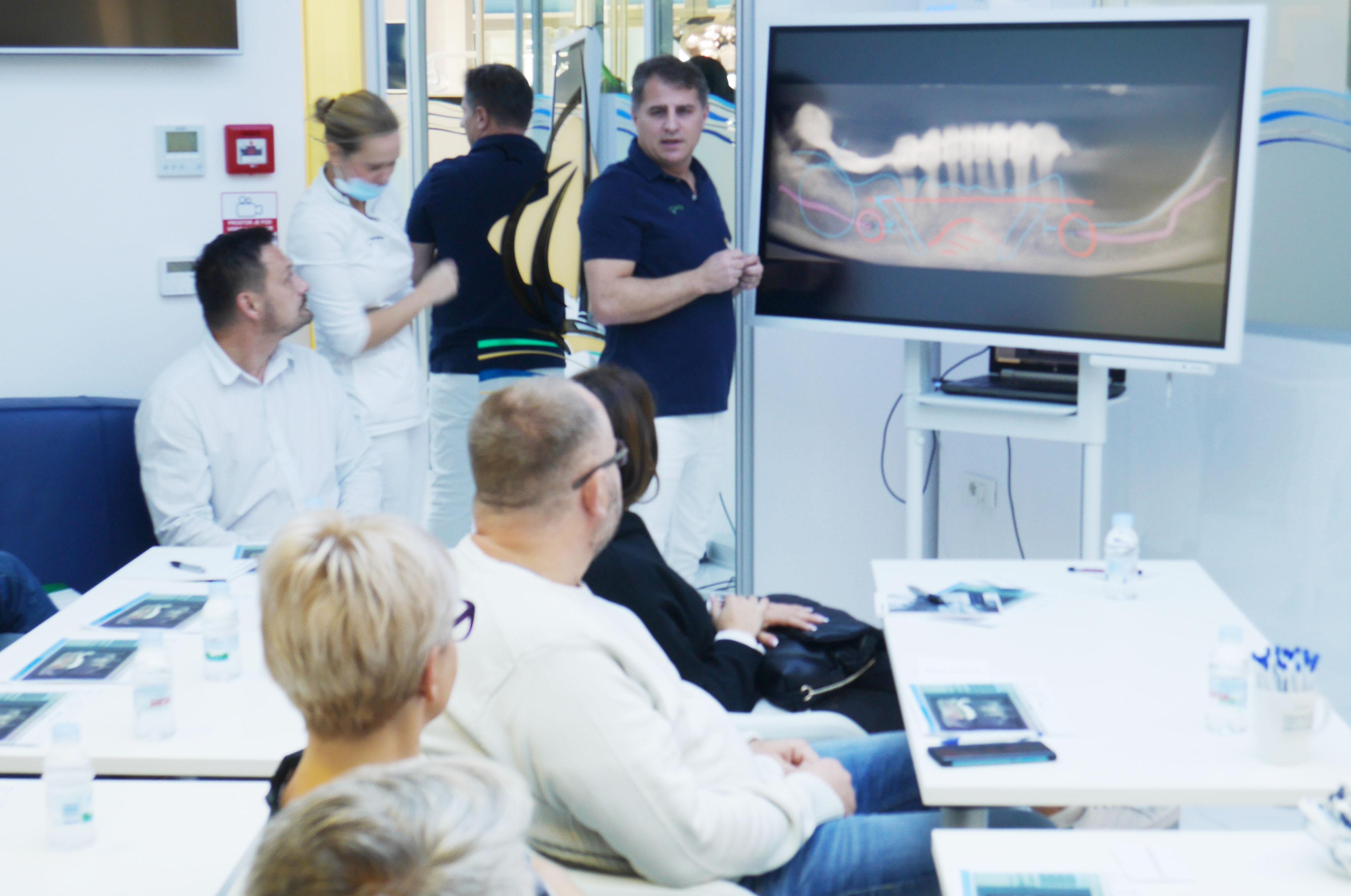 Darko Slovša, edukacija u Dentalnoj poliklinici Smile