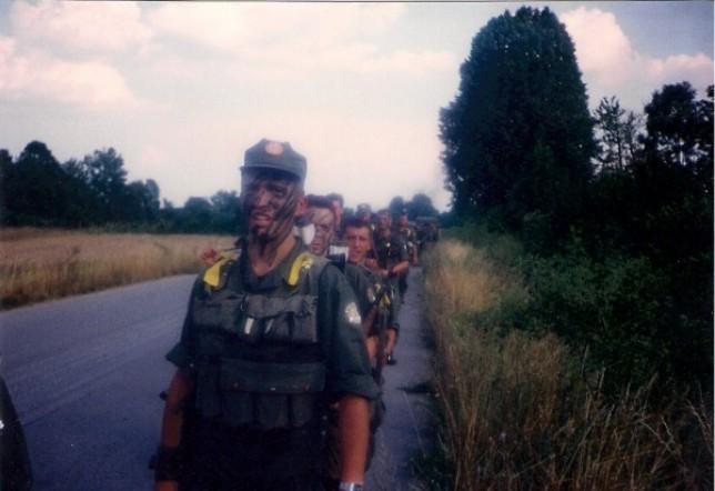 Put prema Medku u koji su Ajkule ušle 5. kolovoza poslijepodne