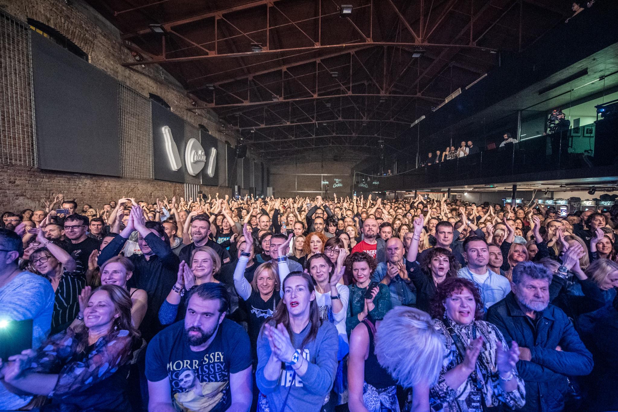 Yammatovo: Publika na koncertu Pretendersa / Foto Vedran Metelko i Niko Goga