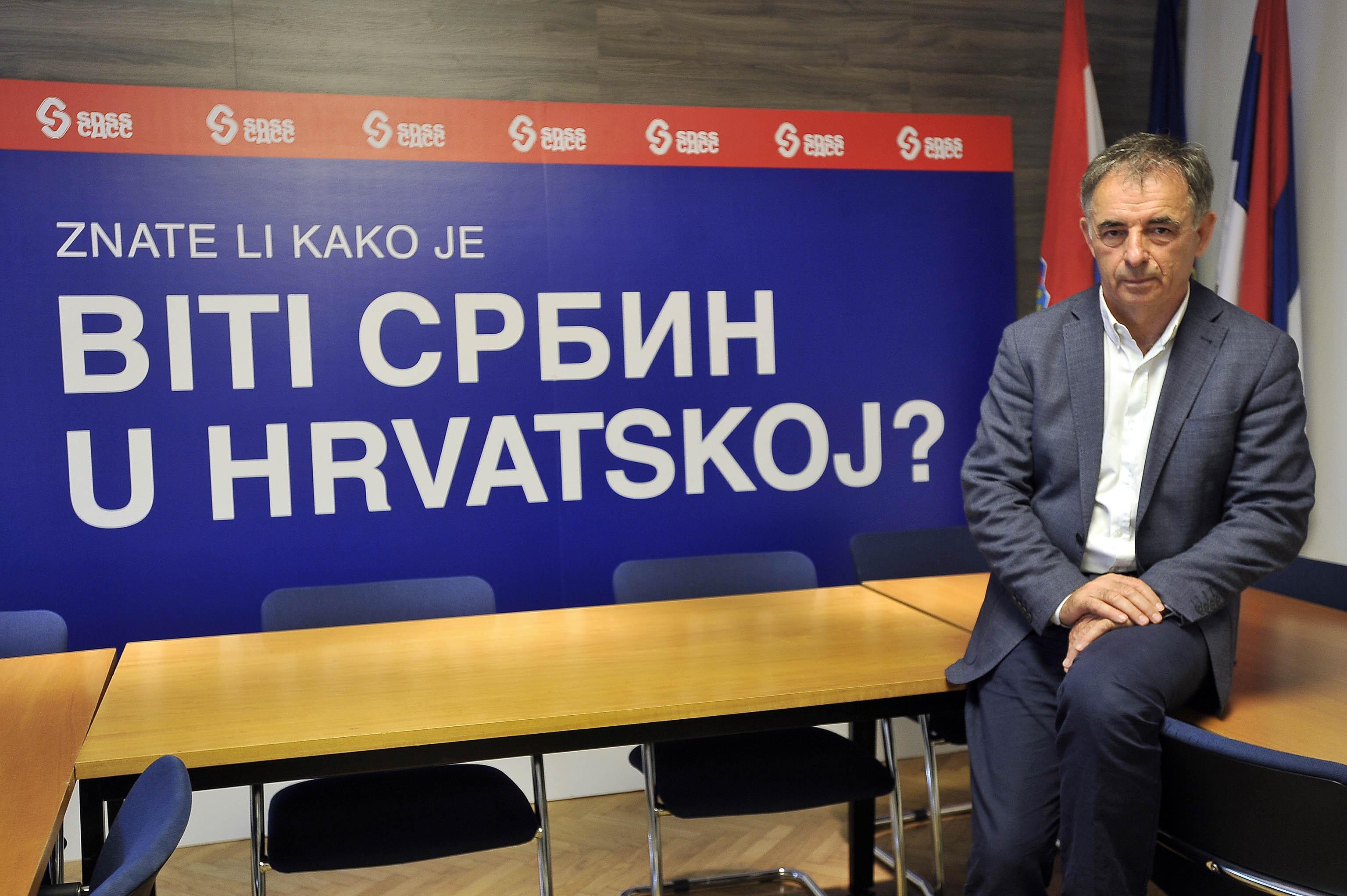 Milorad Pupovac / Foto: D. KOVAČEVIĆ
