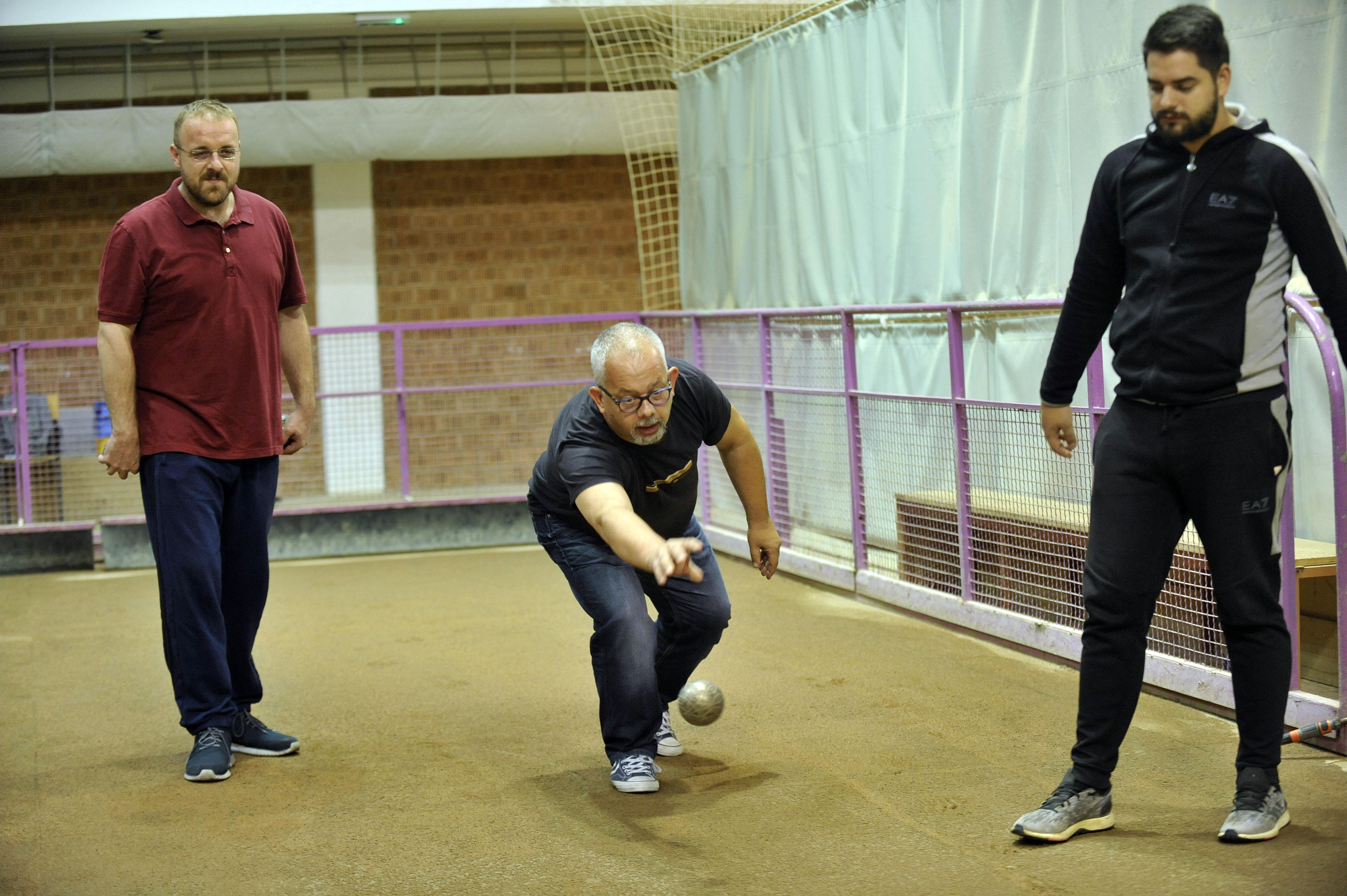 Vlado Bulić, naš novinar Siniša Pavić, Pero Ćubela, snimio Davor KOVAČEVIĆ