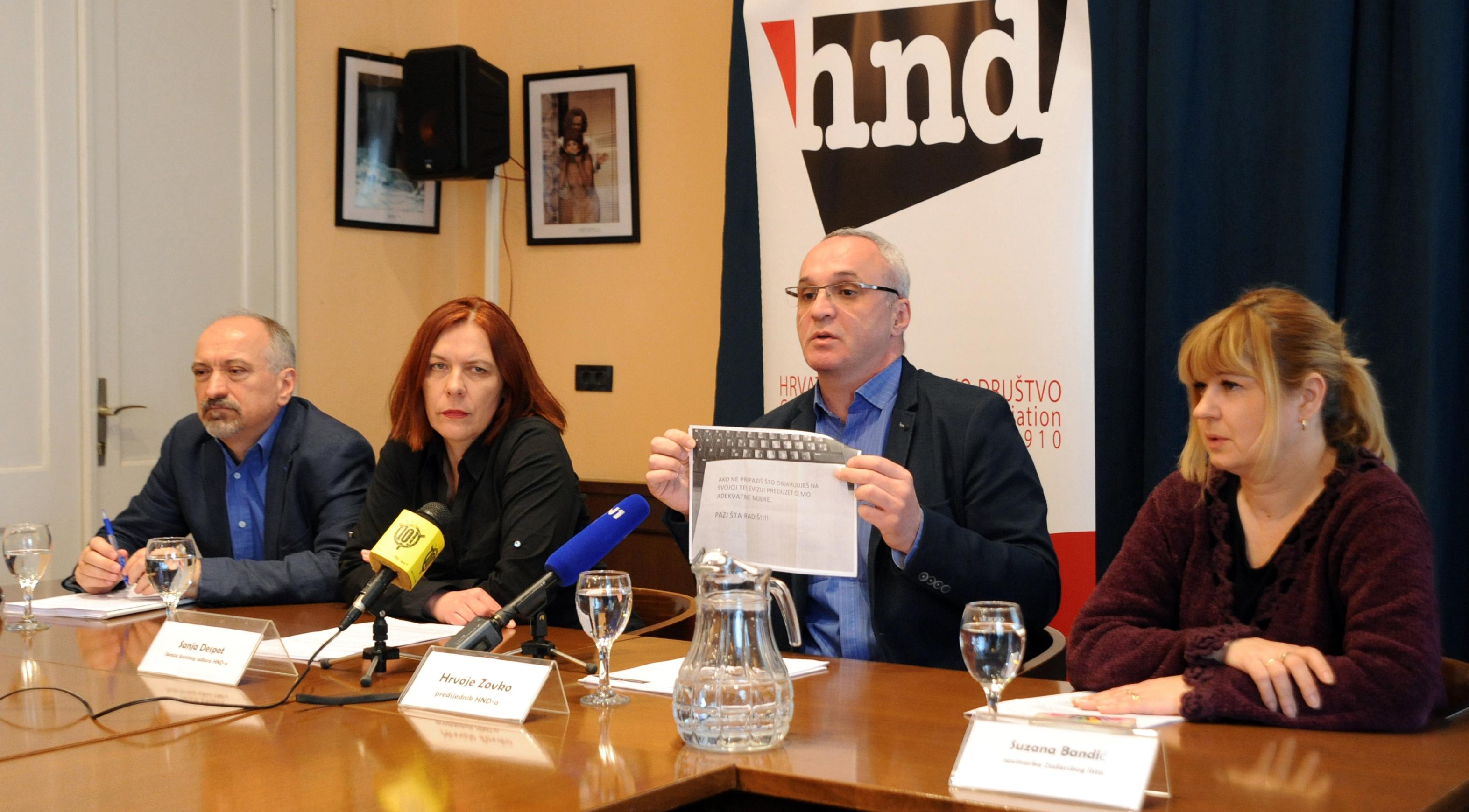 Anton Filić, Sanja Despot, Hrvoje Zovko, Suzana Bandić / Foto D. Jelinek