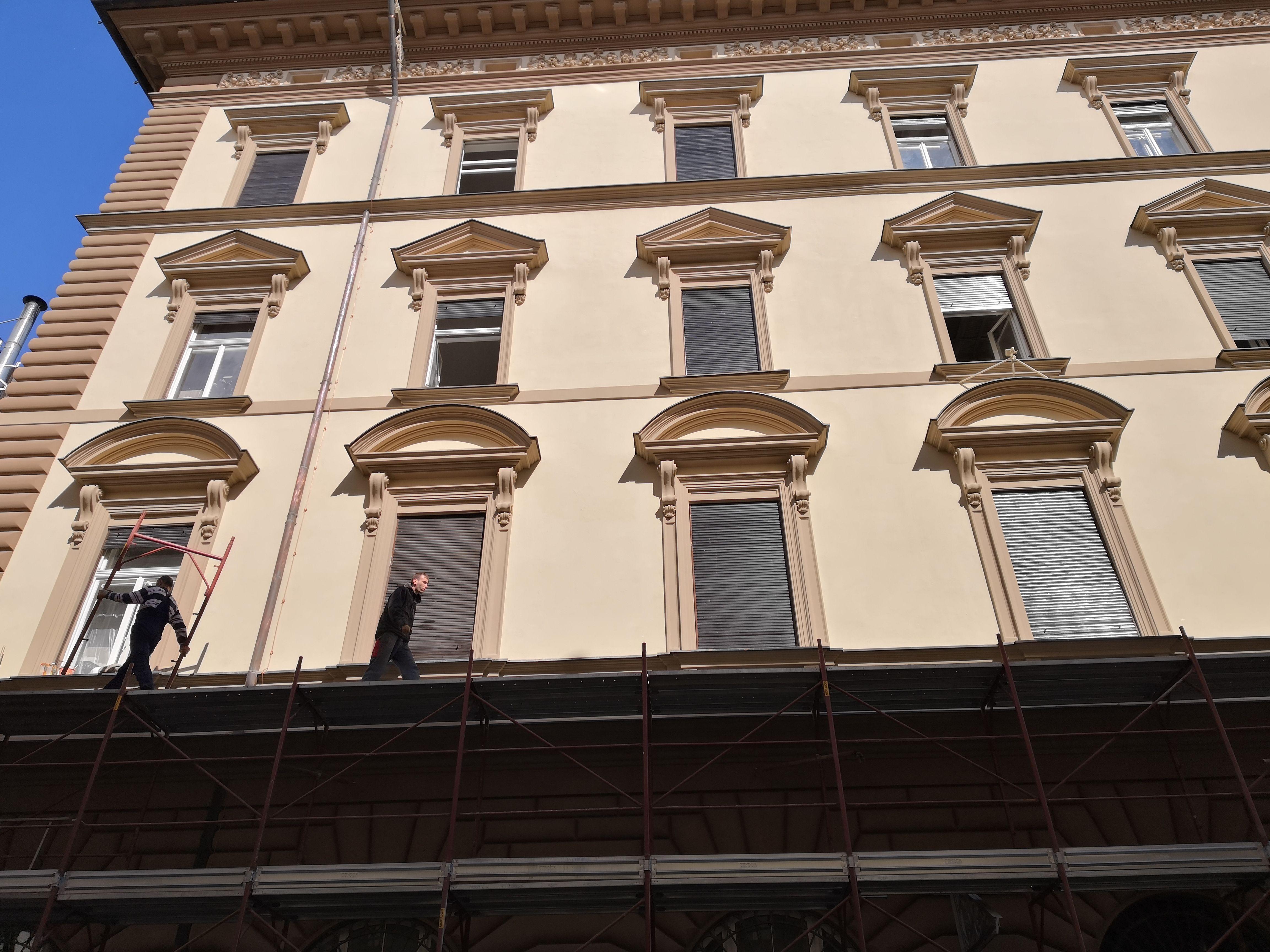 Sanirana zgrada bivše pošte u Adamićevoj / snimio Vladimir MRVOŠ