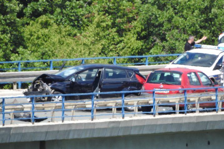 Sudar na vijaduktu Anđeli / Foto Facebook