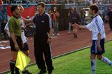 Zoran Krečak, trener »bijelih« Nenad Gračan i strijelac poništenog pogotka Admir Hasančić
