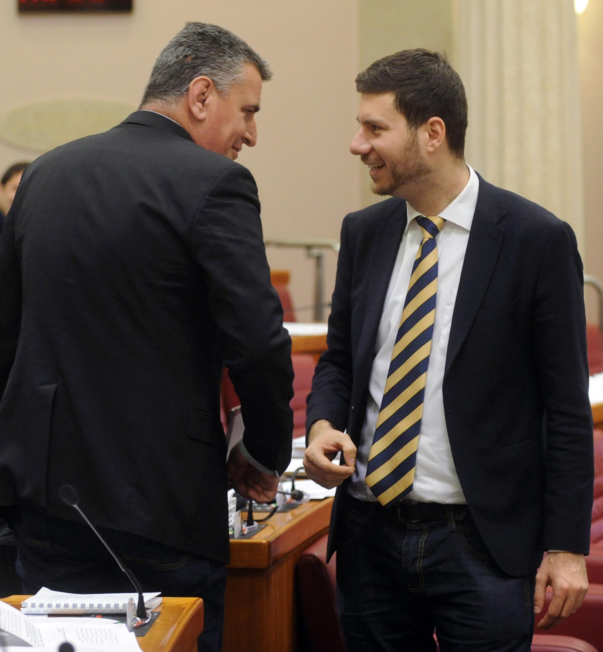 Miro Bulj i Ivan Pernar / Foto: D. JELINEK