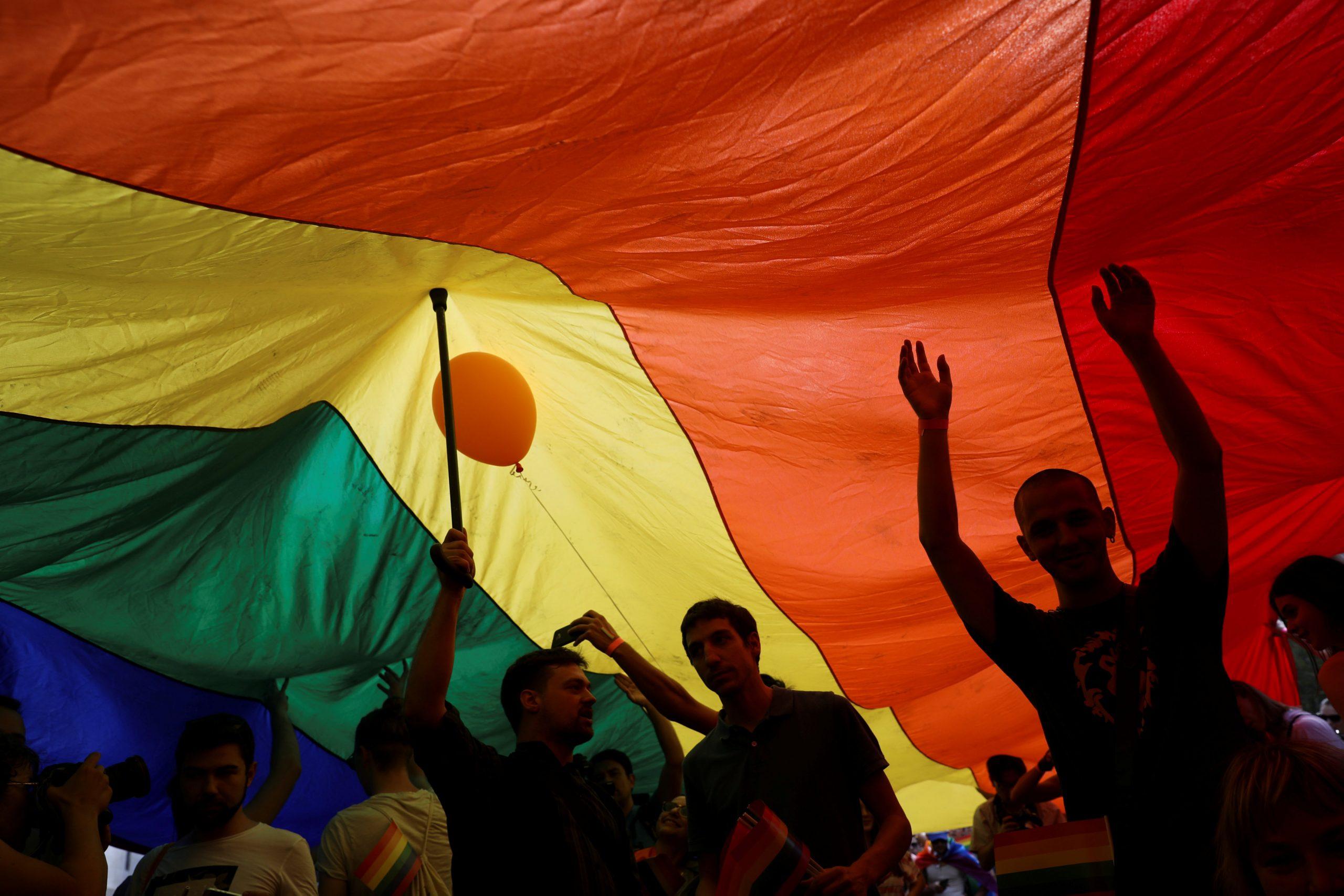 Zastava duginih boja / Foto Reuters