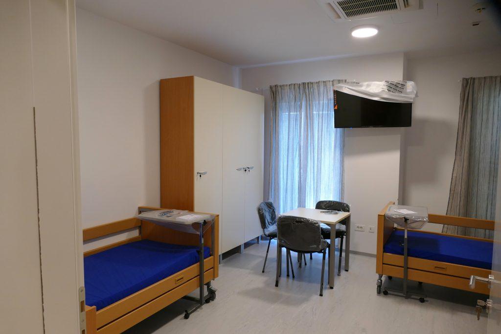 Moderno i funkcionalno opremljene sobe / Snimio Hrvoje HODAK