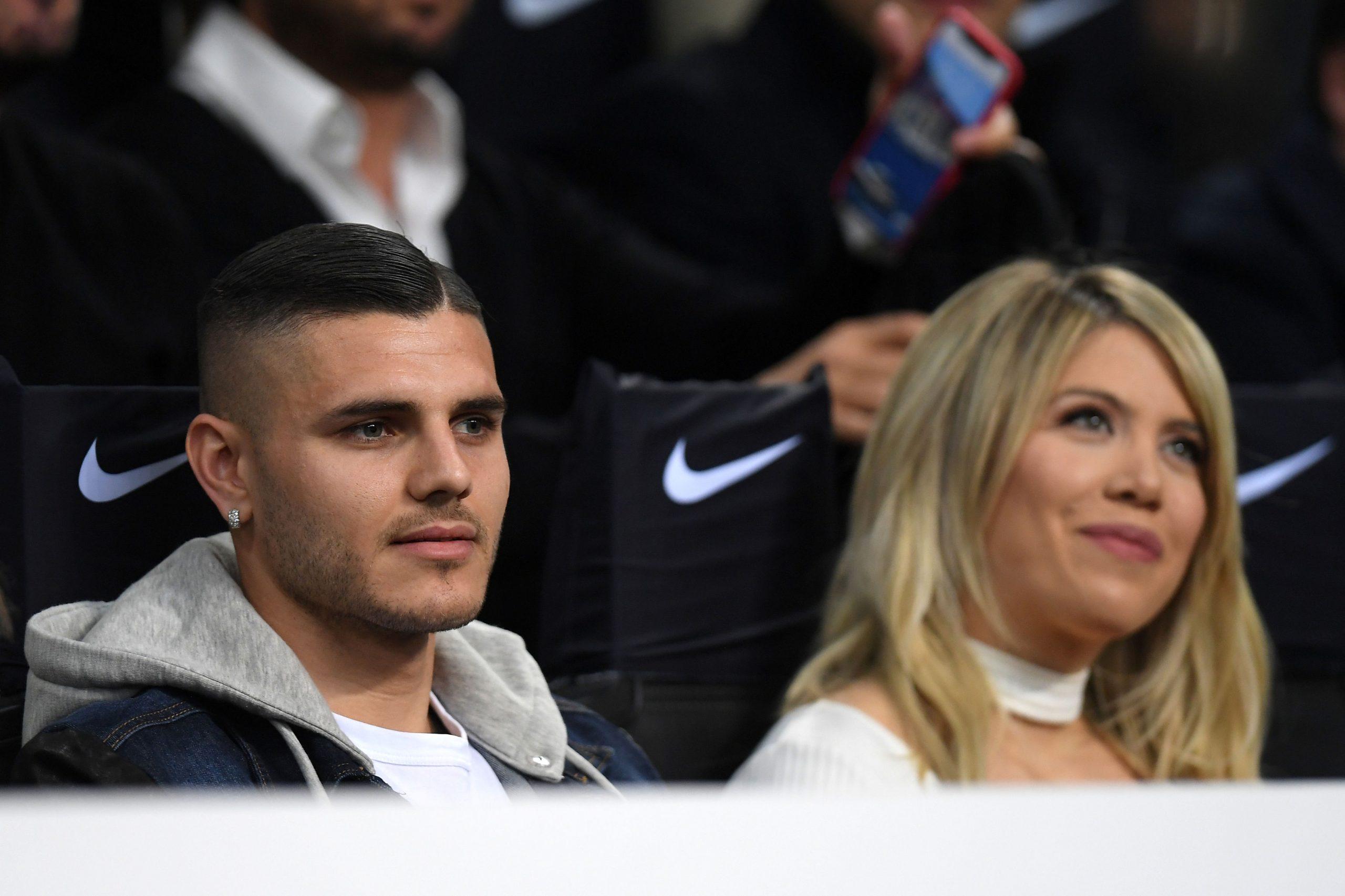 Mauro Icardi i supruga Wanda Nara/Foto REUTERS