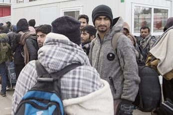 Ilustracija - migranti / NL arhiva