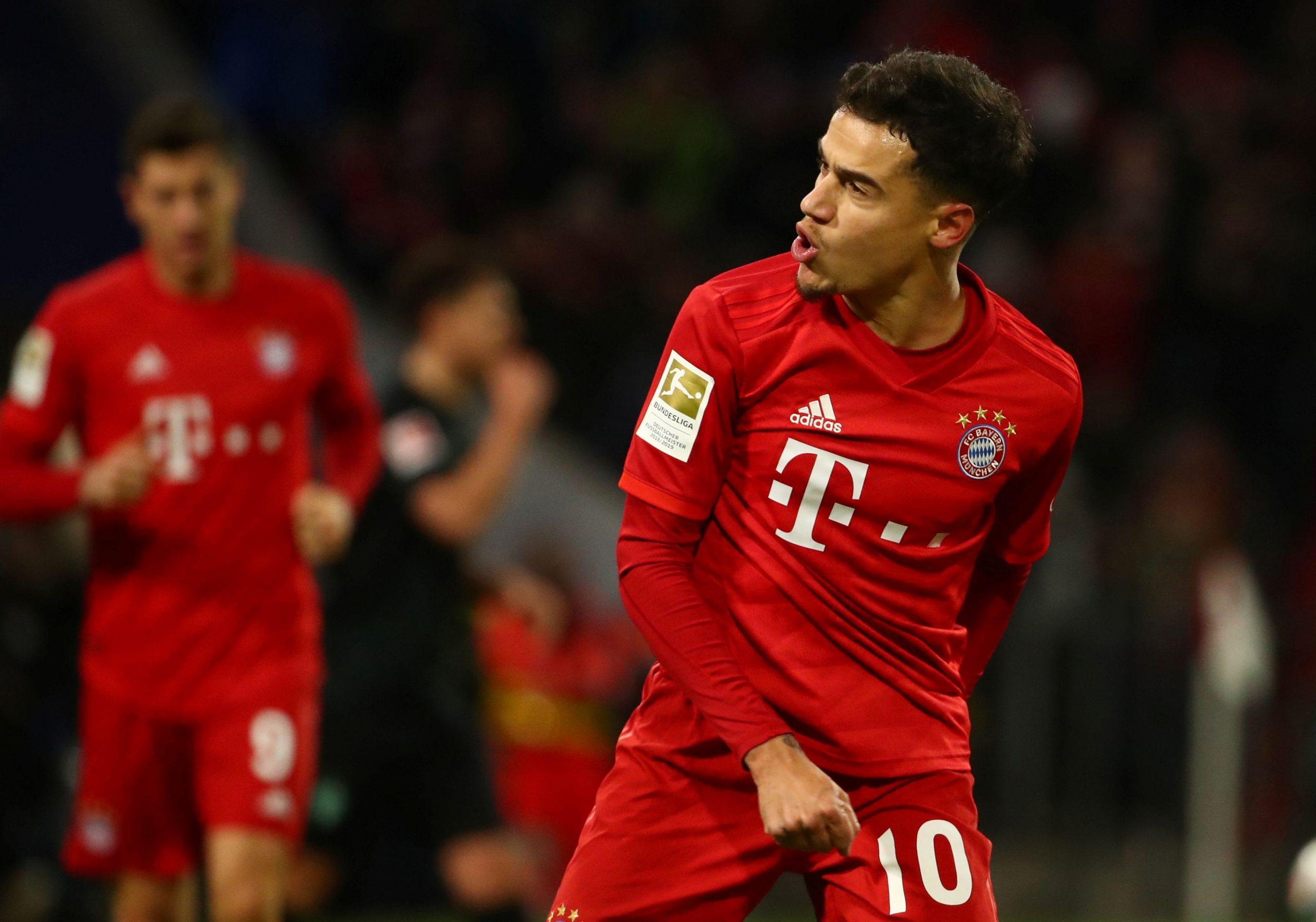 Phillipe Coutinho brani boje Bayerna/Foto REUTERS