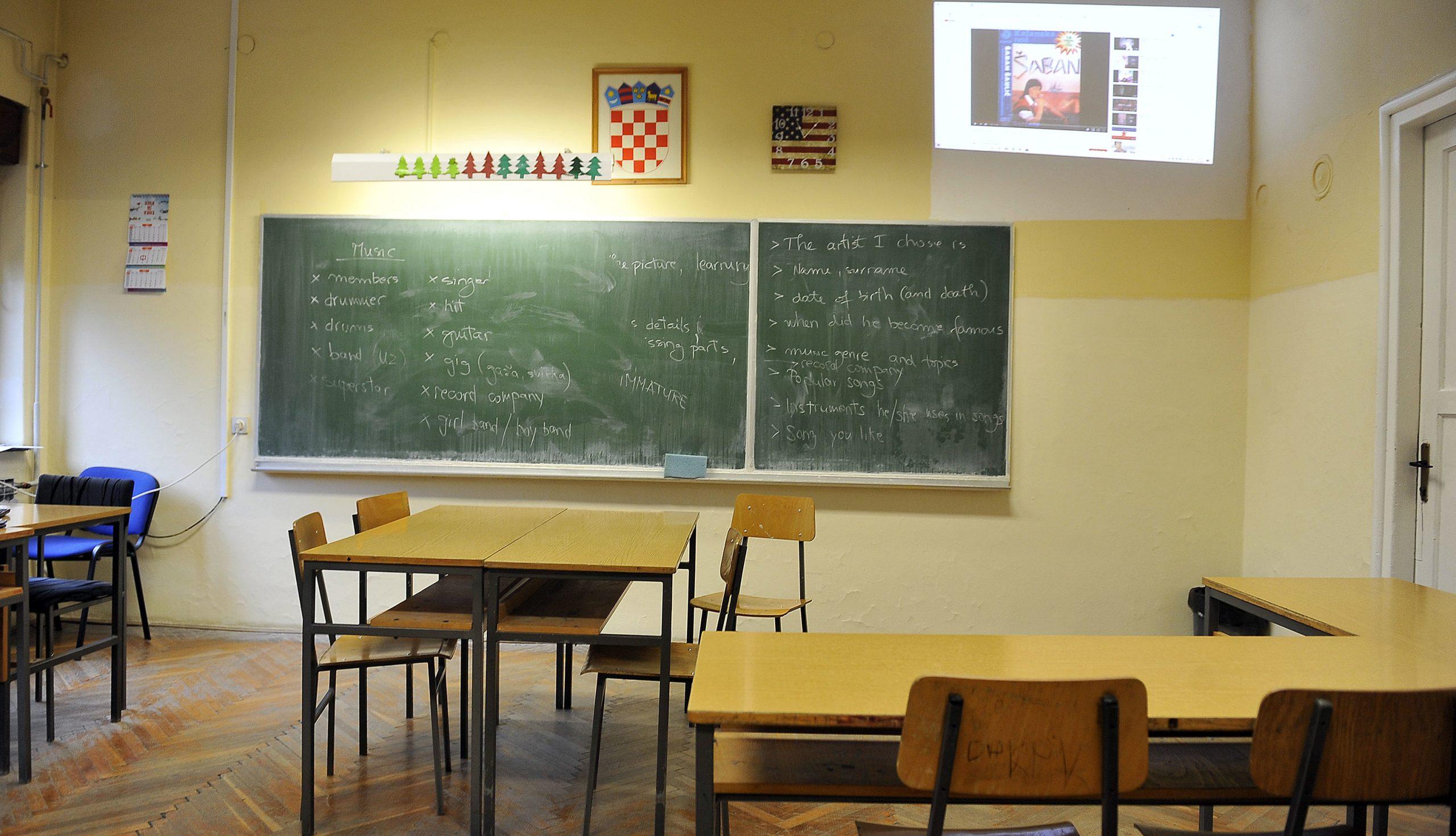 Učionica / Snimio Roni BRMALJ
