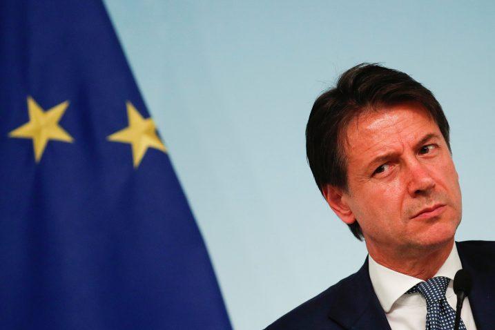 Talijanski premijer Giuseppe Conte poziva na oprez/Foto REUTERS