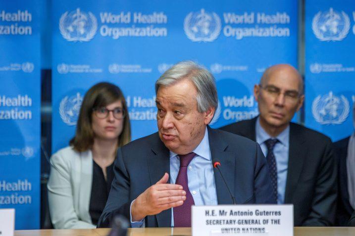 Antonio Guterres / REUTERS