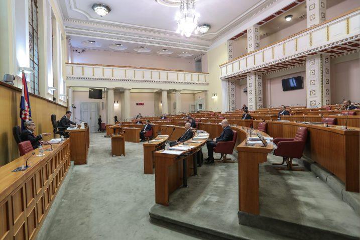 9. saziv Hrvatskog sabora bio je specifičan / Foto:Robert Anic/PIXSELL
