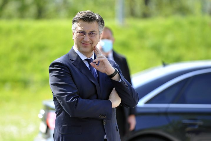 Andrej Plenković / Foto Davor KOVAČEVIĆ