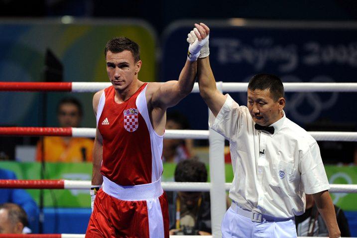 Mario Šivolija za svojih boksačkih dana/Foto PIXSELL