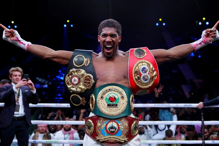 Anthony Joshua/Foto: REUTERS