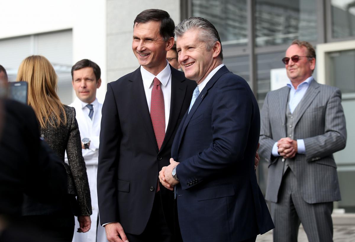 Dragan Primorac i Davor Šuker/Foto PIXSELL