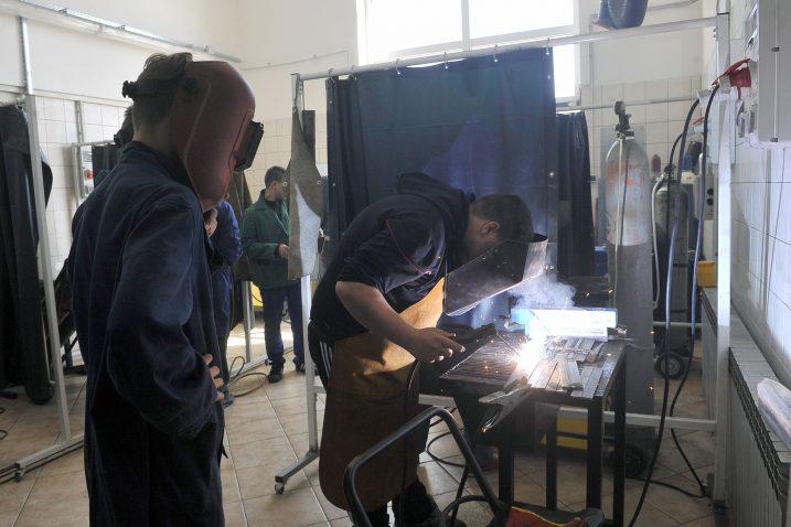 Danas se otvara i Strojarska škola za industrijska i obrtnička zanimanja u Rijeci / Foto R. BRMALJ/Arhiva NL